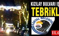 Kızılay Bulvarı ışıl ışıl. Tebrikler Kartal Belediyesi