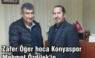Zafer Öğer hoca Konyaspor Mehmet Özdilek'in yardımcılığına getirildi.