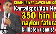 Kartalspor'dan her yıl 350 bin lira, naylon faturalar ile kulüpten uçmuş!