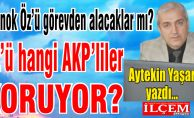 Altınok Öz'ü görevden alacaklar mı? Hangi AKP'liler koruyor?