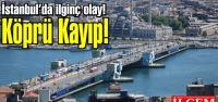 74 metre uzunluğundaki Galata Köprüsü...