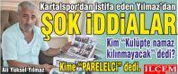 Ali Yüksel Yılmaz Kartalspor'dan istifa...