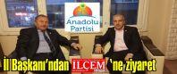 Anadolu Partisi İstanbul İl Başkanı Yavuz Çengel'den İlçem Gazetesi'ne ziyaret
