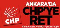 Ankara İl Seçim Kurulu CHP'nin yeniden sayım itirazını reddetti.