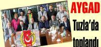 AYGAD Tuzla'da toplantı Yaptı…