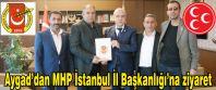 Aygad'dan MHP İstanbul İl Başkanlığı'na ziyaret