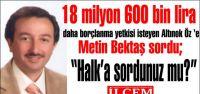 Borç içinde yüzen Kartal Belediyesi yeniden borç almak için meclisten yetki istiyor!