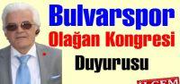 Bulvarspor Olağan Kongresi Mesajı