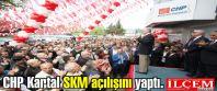 CHP Kartal SKM açılışını yaptı.
