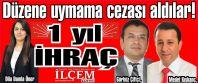 CHP'den düzene uymayan dürüst meclis üyelerine 1 yıl ihraç