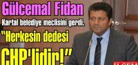 Gülcemal Fidan Kartal belediye meclisini gerdi.