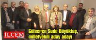 Gülseren Sude Büyüktaş,basına milletvekili...