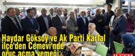 Haydar Göksoy ve Ak Parti Kartal İlçe'den Cemevi'nde oruç açma yemeği
