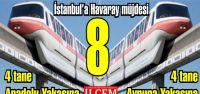 İstanbullulara 8 adet Havaray Müjdesi!