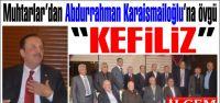 Kartal Belediyesi personeli'nden Soma için saygı duruşu