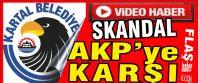 Kartal Belediyesi'nde skandal! Video haber...
