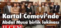 Kartal Cemevi'nde Abdal Musa birlik lokması