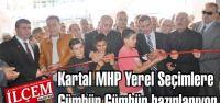 Kartal MHP Yerel Seçimlere Gümbür Gümbür hazırlanıyor