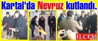 Kartal'da Nevruz Ergenekon İbrahim Şakir İlkokulunda kutlandı.