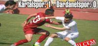 Kartalspor: 1 - Dardanelspor: 0
