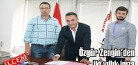 Kartalspor Özgür Zengin'le iki yıllık imza attı.