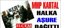 MHP Kartal İlçe Başkanlığı Aşure Dağıttı