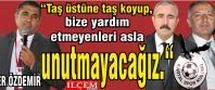 Taner Özdemir 'Taş üstüne taş koyup,...