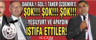 Taner Özdemir'e İstifalar şoku!