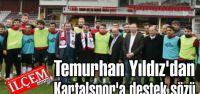 Temurhan Yıldız'dan Kartalspor'a destek sözü