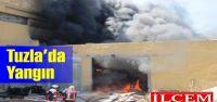 Tuzla Orhanlı Dericiler Sanayi Sitesinde yangın