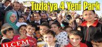Tuzla'da 4 Yeni Park Halkın Hizmetine Sunuldu