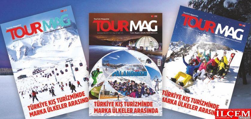 TOURMAG Turizm Dergisi'nin yeni sayısı yayımlandı.