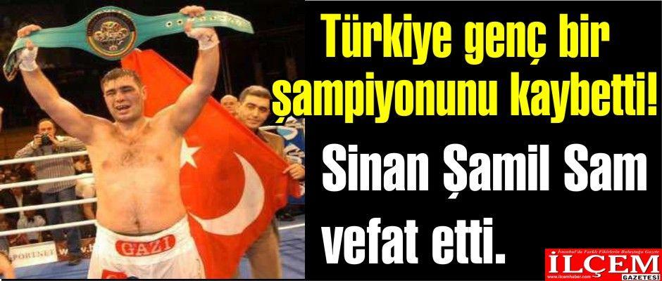 Türkiye genç bir şampiyonu kaybetti!
