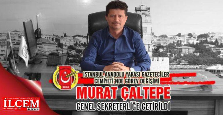 Usta Gazeteci Murat Çaltepe AYGAD Genel sekreteri
