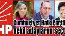 CHP İstanbul 1. bölge ön seçim sonuçları belli olduğu işte o isimler ve aldıkları oylar.