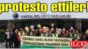 Cevizli Tekel Dayanışması, Kartal Belediyesi'ni protesto etti.