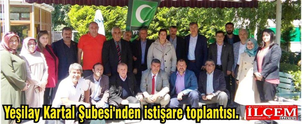 Yeşilay Kartal Şubesi'nden istişare toplantısı.