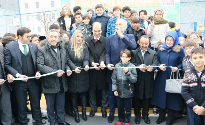 Çekmeköy Spor Parkı hizmete açıldı.
