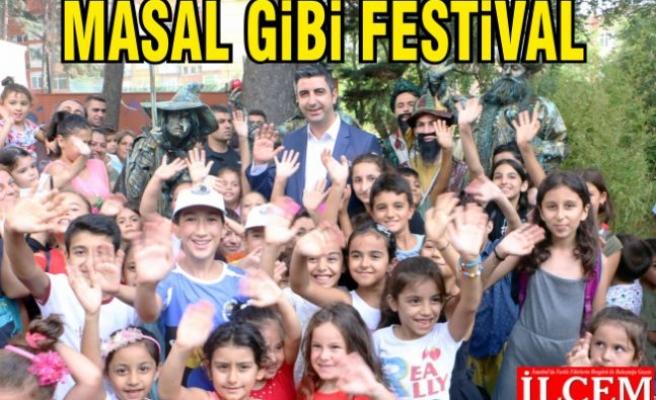 Kartal Belediyesi'nden çocuklara, Masal gibi Festival