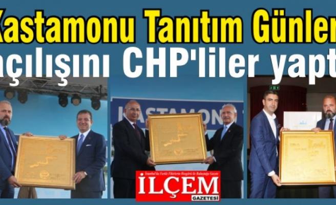Kastamonu Tanıtım Günleri'nin açılışını CHP'liler yaptı.
