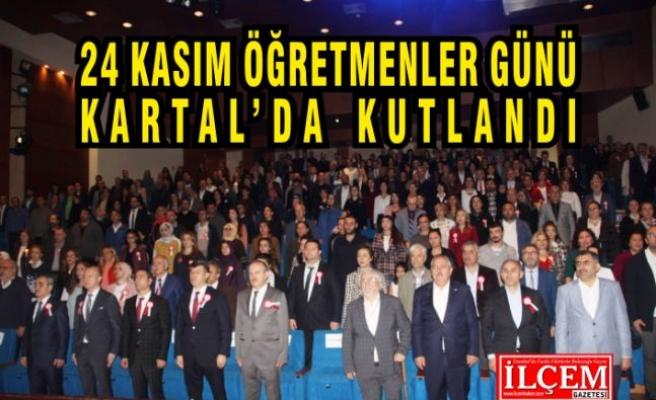 Kartal İlçe Milli Eğitim Müdürlüğü, 24 Kasım Öğretmenler Günü'nü kutladı.