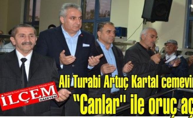 Ali Turabi Artuç Kartal cemevinde