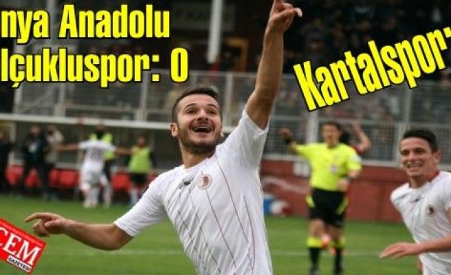 Konya Anadolu Selçukluspor: 0 - Kartalspor: 1