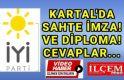 İYİ Parti Kartal'dan sahte imza ve diploma iddialarına cevap