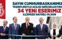 Cumhurbaşkanı Erdoğan Sancaktepe'de 34 eserin...