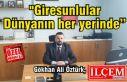 """Gökhan Ali Öztürk, """"Giresunlular Dünyanın..."""