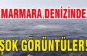 Heybeli Ada'da şok görüntüler! Marmara Denizi...