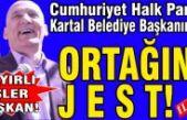 CHP'li Kartal Belediye Başkanından, ortağına jest!