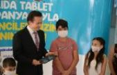 Tuzla Belediyesi'nden Eğitime, askıda tablet desteği