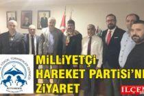İstanbul Yörük Türkmen Derneği'nden MHP'ne ziyaret